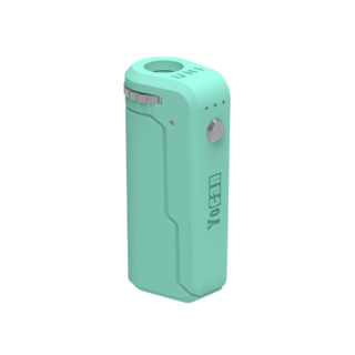 Yocan UNI Universal Portable Vaporizer Box Mod THC Oil Cartridges CBD Oil Cartridges Vape Pen Battery Yocan UNI 510-thread box battery offers ultimate protection and discretion for your oil cartridges Mint Green