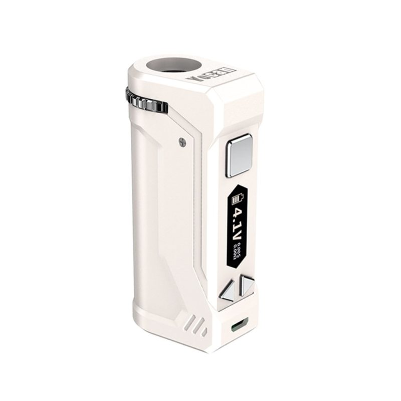 Yocan UNI Pro Box Mod Universal Portable Vaporizer for THC and CBD Oil Cartridges, Vape Pen Battery Yocan UNI Pro 510 thread box mod offers ultimate protection and discretion for your oil cartridges