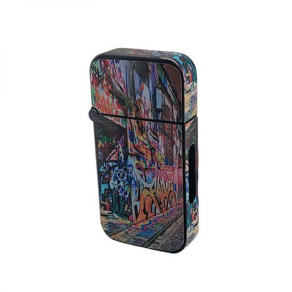 ZOLO-B oil cartridge battery with graffiti street art design