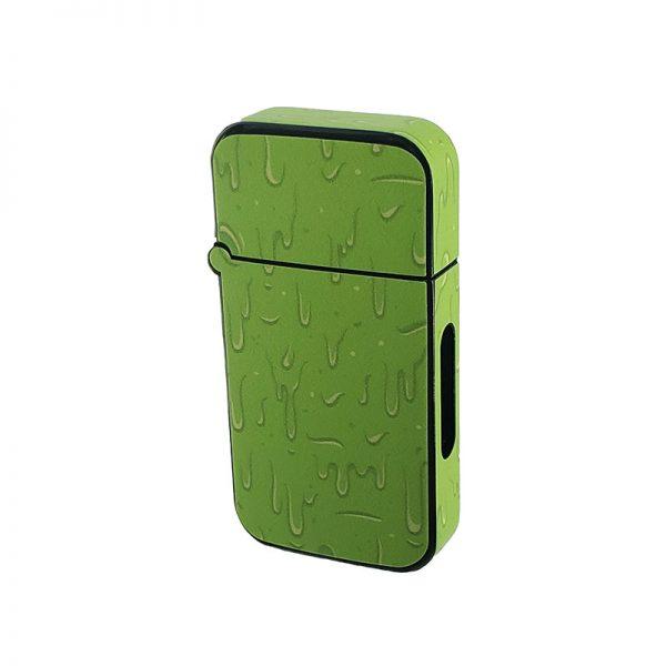 ZOLO-B oil cartridge battery with green cartoon slime design