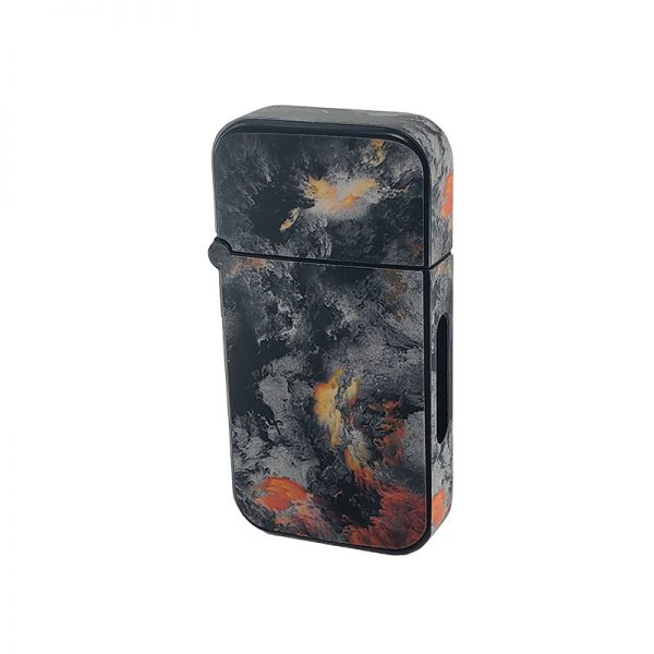 ZOLO-B oil cartridge battery with grey fire clouds design