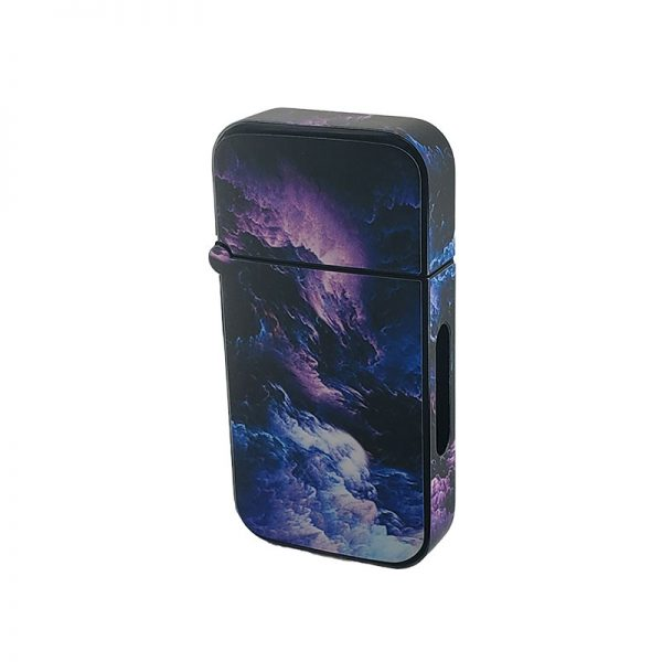 ZOLO-B oil cartridge battery with purple storm clouds design