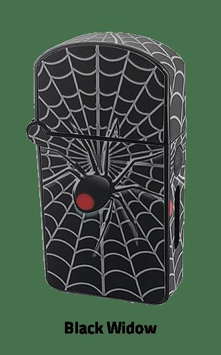 ZOLO-S oil cartridge battery with Black Widow design