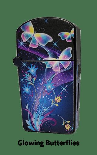ZOLO-S oil cartridge battery with Glowing Butterflies design