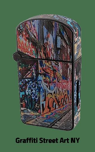 ZOLO-S oil cartridge battery with Graffiti Street Art NY design