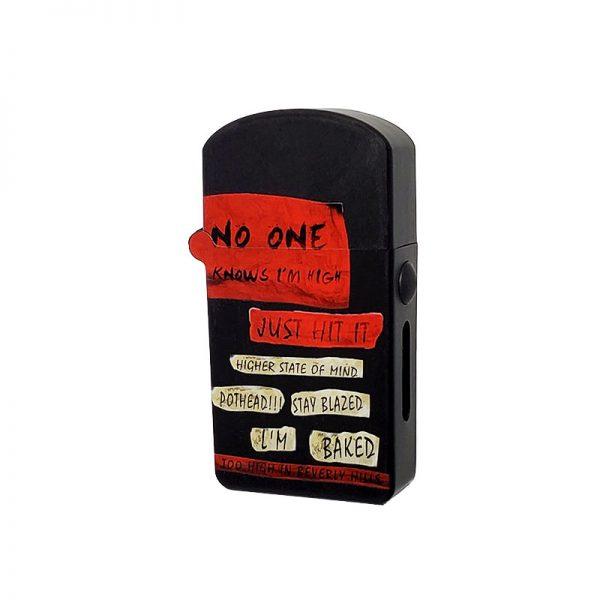 ZOLO-S oil cartridge battery with Retro Poster design