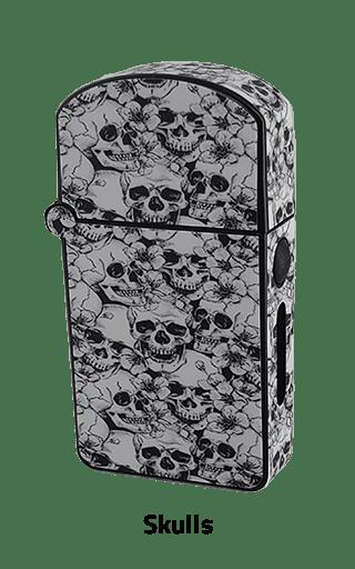ZOLO-S oil cartridge battery with Skulls design