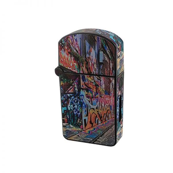 ZOLO-S oil cartridge battery with graffiti street art design