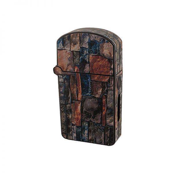 ZOLO-S oil cartridge battery with multicolor brick wall design