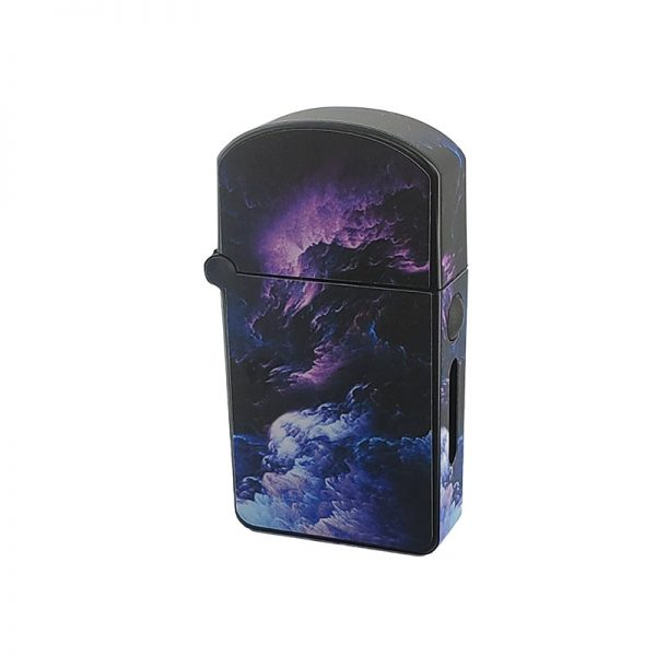 ZOLO-S oil cartridge battery with purple storm clouds design