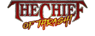 Chuck Billy The Chief of Thrash merchandise collection