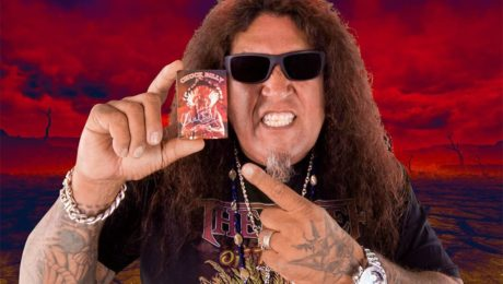 Chuck Billy personally autographed trading card