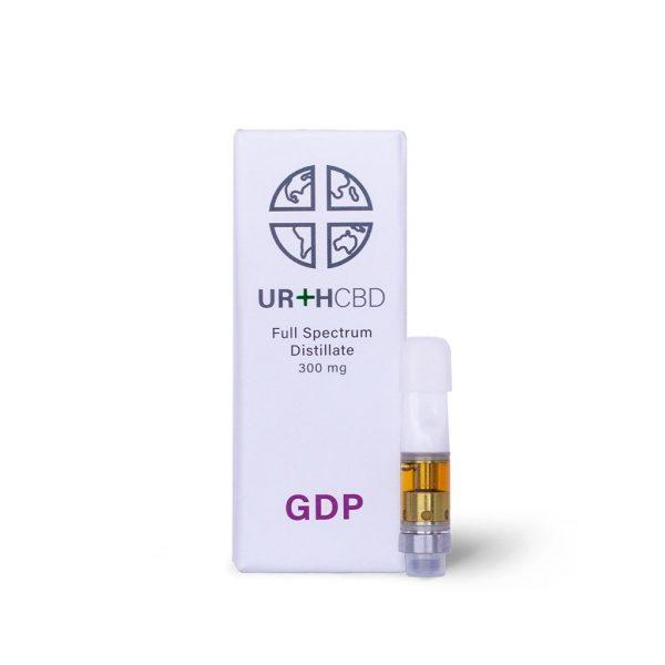 UrthCBD Distillate Vape Cartridge - GDP - 300mg