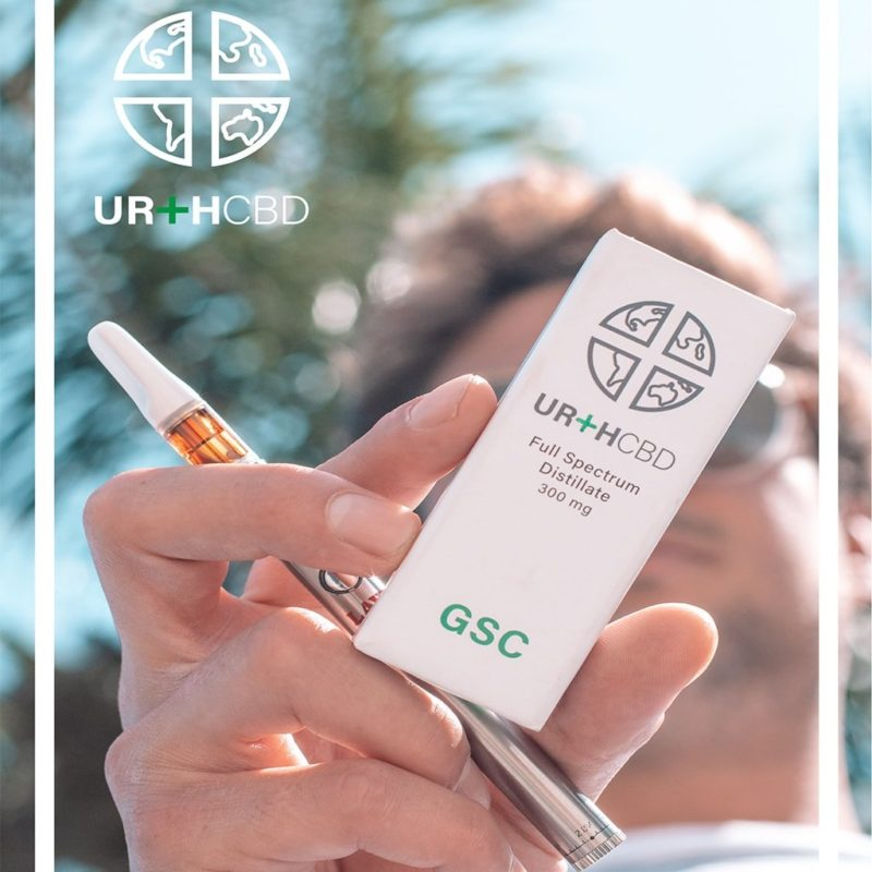 UrthCBD Distillate Vape Cartridge - GSC - 300mg