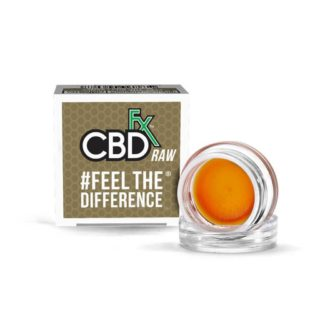 CBDfx Wax Raw Dabs 300mg Full Spectrum CBD