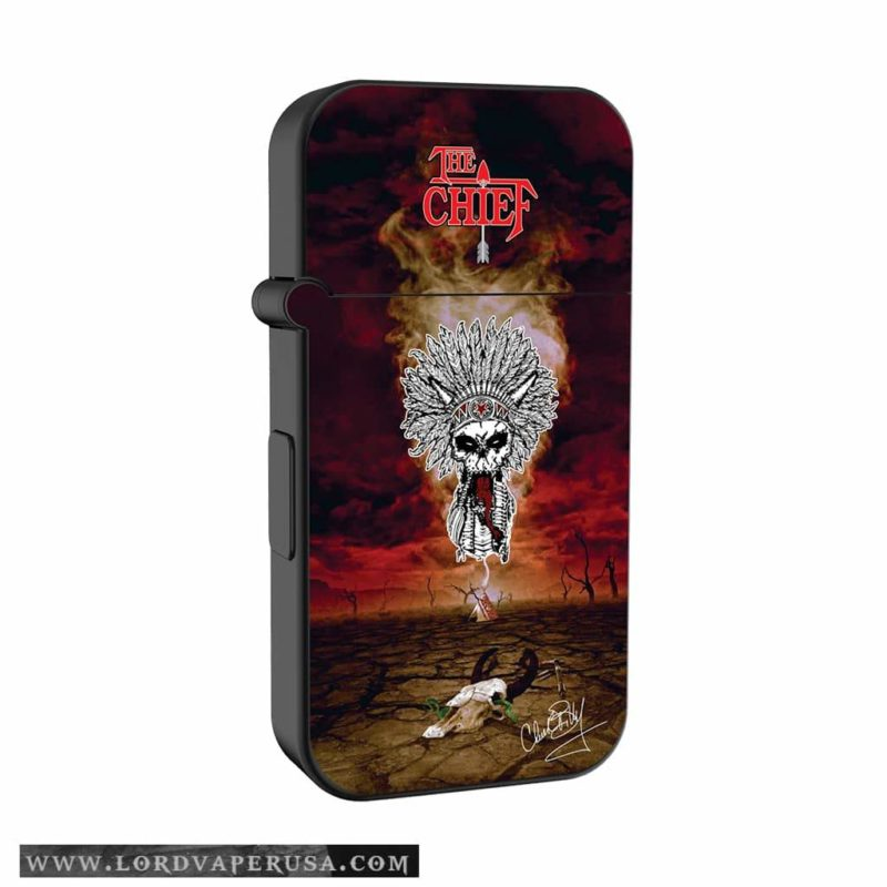 The Chief Chuck Billy Signature Series Dream Catcher Cartridge Battery for THC oil and CBD oil vaping oil cartridge battery box mod