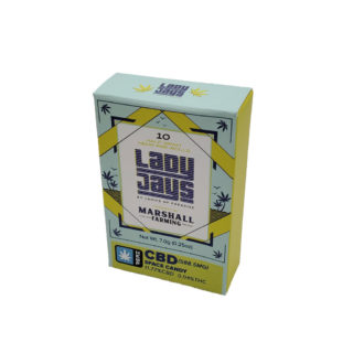 LordVaperPens Lady Jays CBD Pre-rolls pack of 10 Space Candy