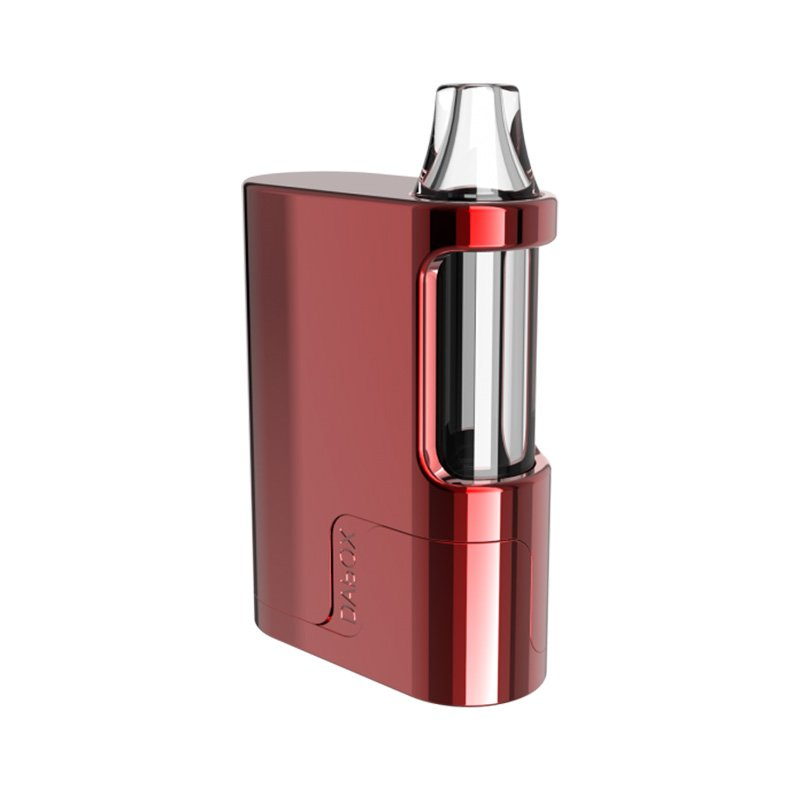 Vivant DAbOX Concentrates Portable Compact Vaporizer in tango red