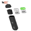 Yocan Trio 3-in-1 Pod System Vape Pen Refillable THC and CBD Oil Pods Yocan Trio 3-in-1 offers ultimate on-the-go vaping for e-juice and e-liquid