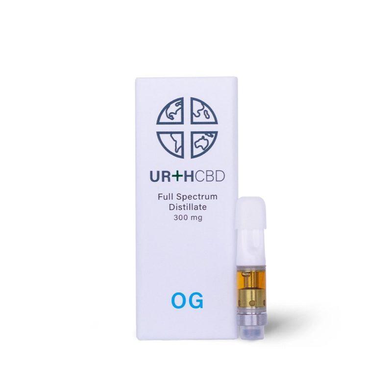 UrthCBD Distillate Vape Cartridge - OG - 300mg