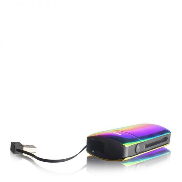 Exxus Push oil cartridge battery in full color with USB exposed
