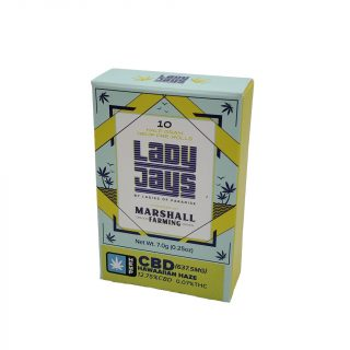 LordVaperPens Lady Jays CBD Pre-rolls pack of 10 Hawaiian Haze