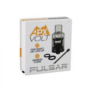 Pulsar APX Volt replacement coil-less quartz cup atomizer in box