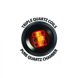 Pulsar APX Wax replacement triple quartz coil atomizer