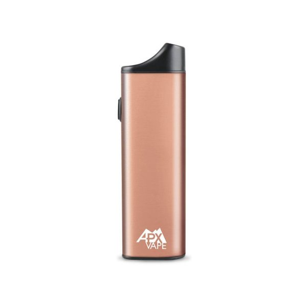 Lord Vaper Pens Pulsar APX V2 dry herb vaporizer in rose gold