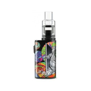 Pulsar APX Volt wax vaporizer kit in psychedelic spaceman