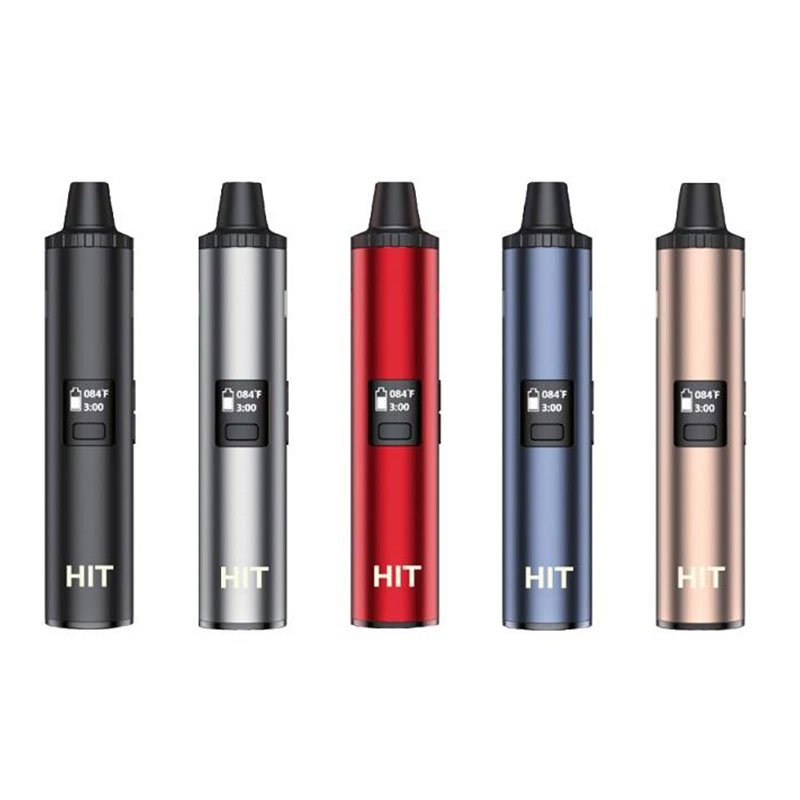 Yocan Hit dry herb vaporizer a cost-effective convection-style vaporizer in five colors