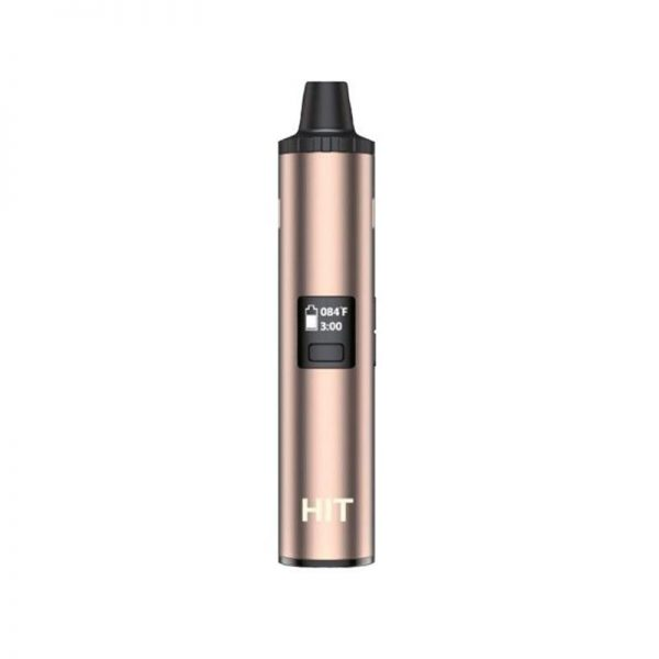 Yocan Hit dry herb vaporizer a cost-effective convection-style vaporizer in champagne