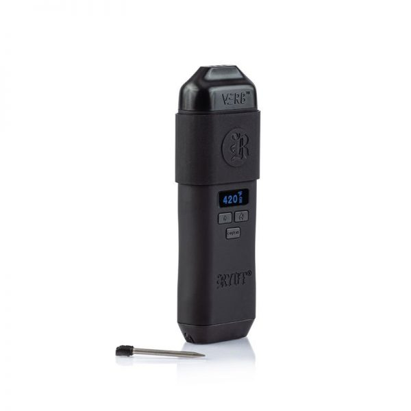 RYOT Verb dry herb vaporizer with stir pin out