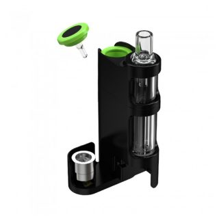 Vivant DAbOX Concentrates vaporizer water filter installed