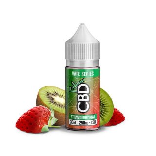 CBDfx Strawberry Kiwi CBD Vape juice in 30ml bottle