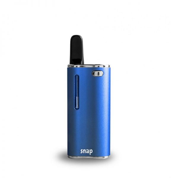Exxus Snap oil cartridge vaporizer in blue