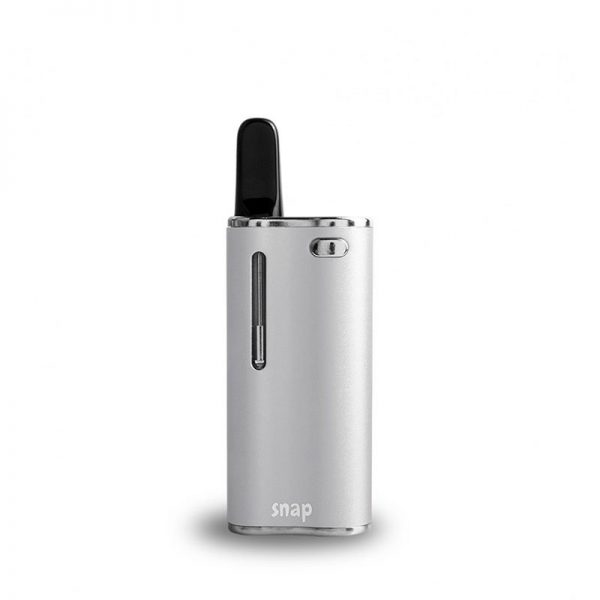 Exxus Snap oil cartridge vaporizer in silver