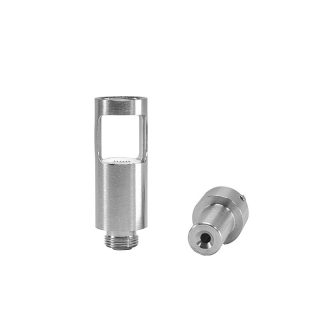 Linx Ember concentrates atomizer with stainless steel shell and mouthpiece removed