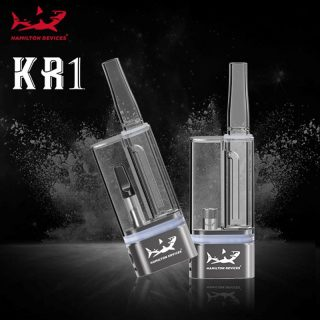 Hamilton Devices KR1 concentrates and oil cartridge bubbler