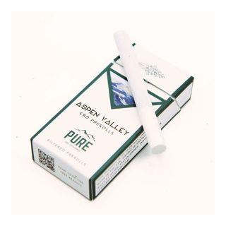 Aspen Valley Hemp CBD Hemp Cigarettes filtered prerolls
