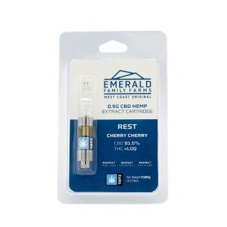 Emerald Family Hemp CBD Cherry Cherry oil cartridge